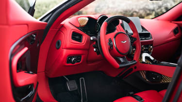 Aston Martin DBS GT Zagato - cabin