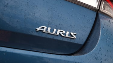 New Toyota Auris 2015 badge