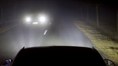 Normal headlights
