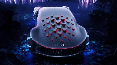 Mercedes Vision AVTR concept - above
