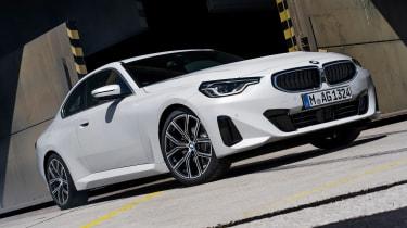 BMW 220i - front static