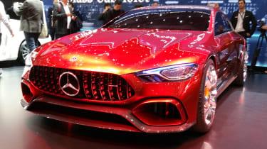 Mercedes-AMG GT Concept Geneva - full front