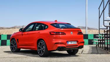 BMW X4M - rear static