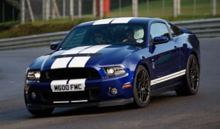 Ford Mustang cornering
