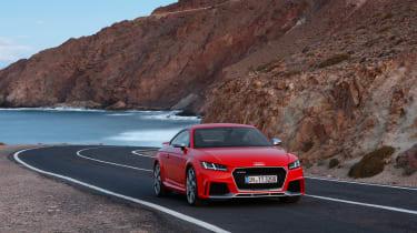 Audi TT RS - front three quarter