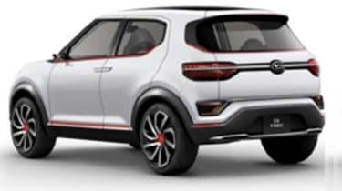 Daihatsu DN Trec - rear
