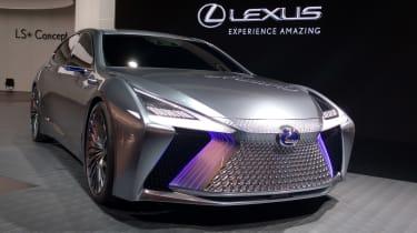 Lexus LS+ Concept - Tokyo front