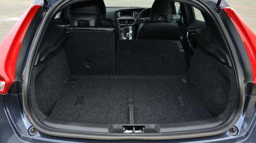Volvo V40 R-Design boot space