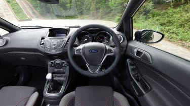 Ford Fiesta - interior