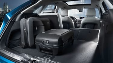 New Audi Q3 2015 boot