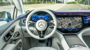 New Mercedes EQS 2021 review - interior