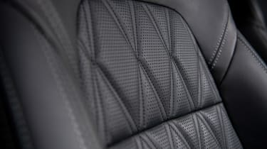 Nissan Qashqai - seat detail