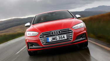 Audi S5 Coupe - full front