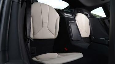 BMW i8 UK rear seats