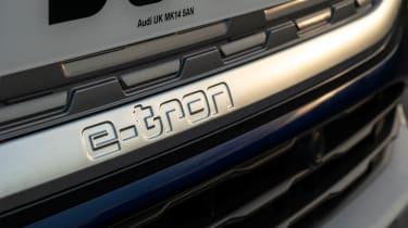 Audi Q4 e-tron Sportback - badge