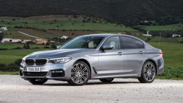 BMW 5 Series - front static