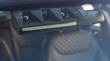 Hyundai Ioniq autonomous - front sensor detail