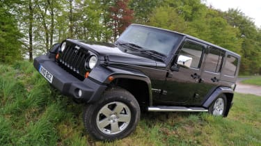 We would not recommend the Wrangler as a daily driver unless you live in the rural wilderness.