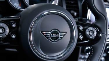 MINI hatch - steering wheel detail