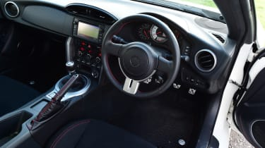 Toyota GT86 dashboard