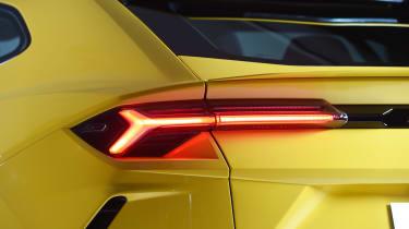 Lamborghini Urus - studio rear light