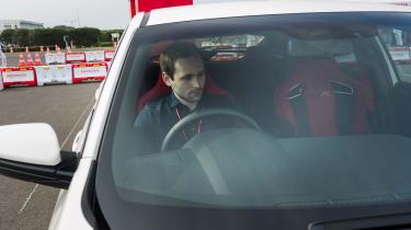 New Honda Civic Type R - window