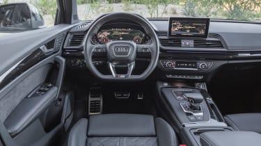 Audi Q5 3.0 TDI S-Line - dash