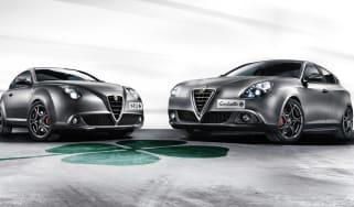 Alfa Romeo Giulietta and MiTo QV 2014 front