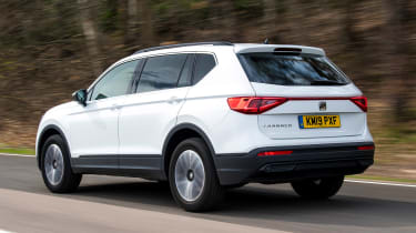SEAT Tarraco long-termer - first report rear action