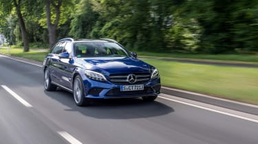 Mercedes C-Class Estate - front tracking