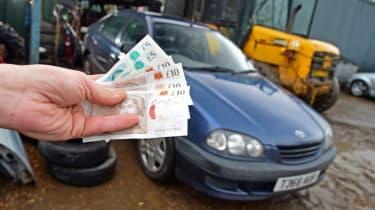 Used Toyota Avensis money