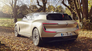 Renault Symbioz concept - rear static