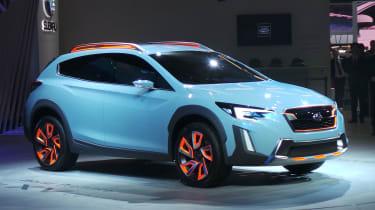 Subaru XV concept - show front/side