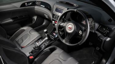 Subaru Impreza Cosworth interior