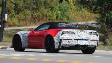 Corvette ZR1 rear