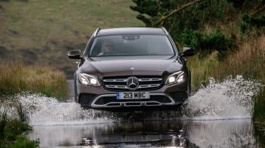 Mercedes E-Class All-Terrain - front water