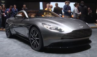 Aston Martin DB11 - Geneva show front close-up