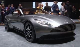Aston Martin DB11 - Geneva show front close-up