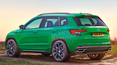 Skoda Karoq vRS - rear (watermarked)