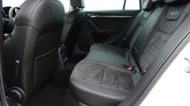 Skoda Octavia Scout review - rear seats