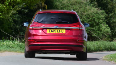 Ford Mondeo Hybrid Estate - rear cornering