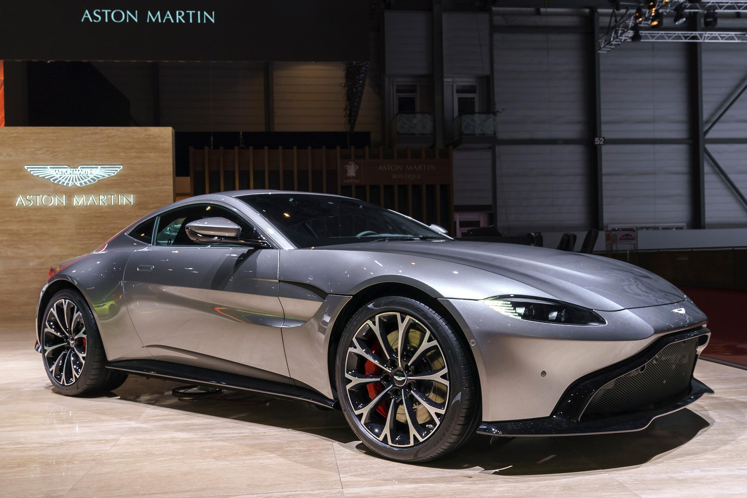 New 2018 Aston Martin Vantage Makes Geneva Debut Auto Express