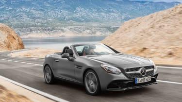 Mercedes SLC roadster - front