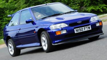Ford Escort Cosworth front cornering