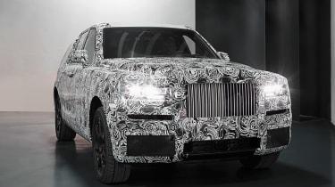 Rolls Royce Project Cullinan mule