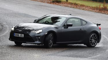 Toyota GT 86 2017 facelift - drift