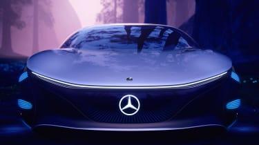 Mercedes Vision AVTR concept - full front