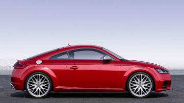 Audi TTS 2014 side