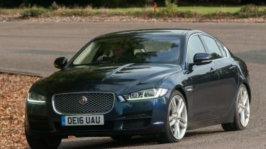 Jaguar XE - front cornering