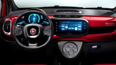 Fiat 500 2016 interior